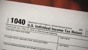 2020 Tax Filing