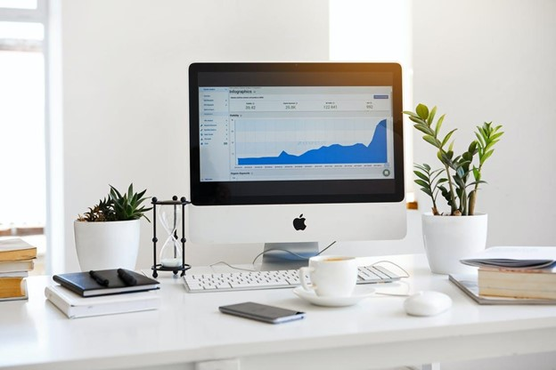 computer screen showing an analysis